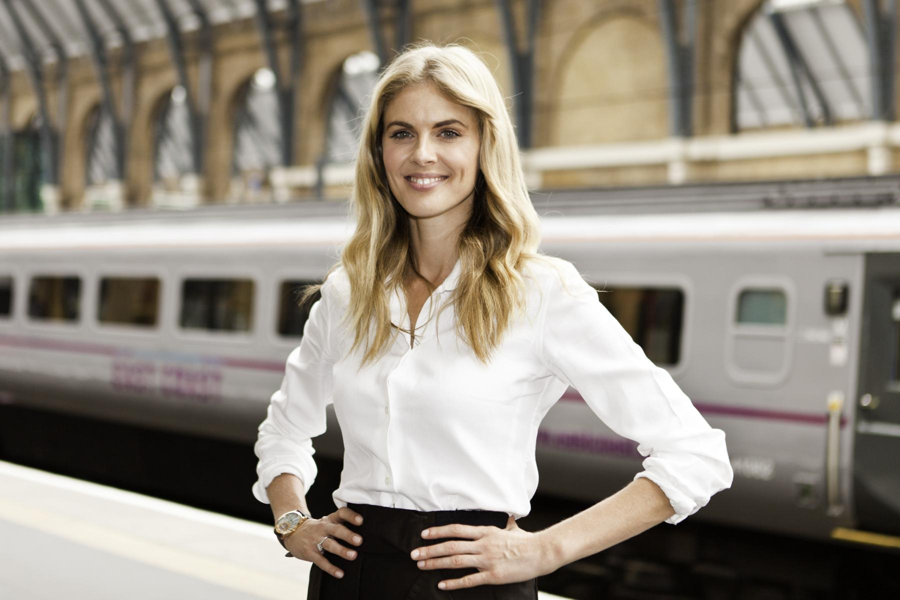 English media personality Donna Air changed her name to Donna Train for the week